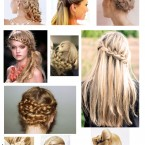 Örgü Saç Modelleri (19)