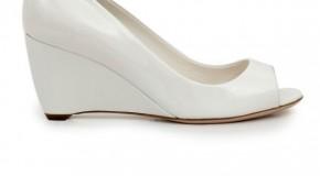 Dolgu Topuk Gelin Ayakkabıları