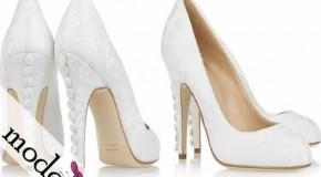 Platform Topuk Gelin Ayakkabısı Modelleri